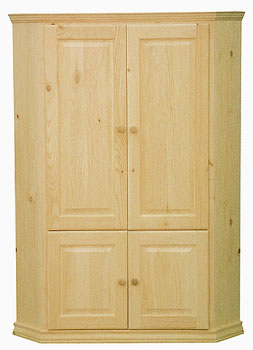 Pine Corner Armoire, Also Available In Maple U0026 Oak