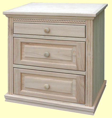American Heritage Furniture Restoration: American Heritage Nightstand, Available In Pine, Maple