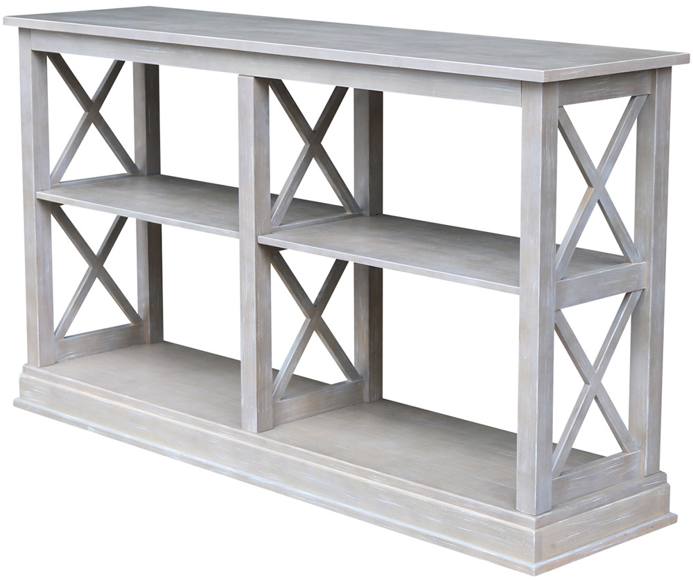 Fabulous Parawood Hampton Long Sofa Table Weathered Gray The Wood Shed Pdpeps Interior Chair Design Pdpepsorg