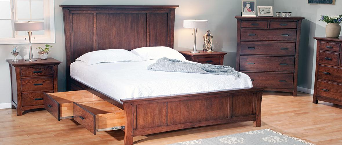 Custom Wood Bedroom FurnitureCustom wood bedroom furniture from The Wood  Shed  Choose your wood  style  size  finish and hardware. The Wood Shed   Finished  Unfinished   Custom Furniture