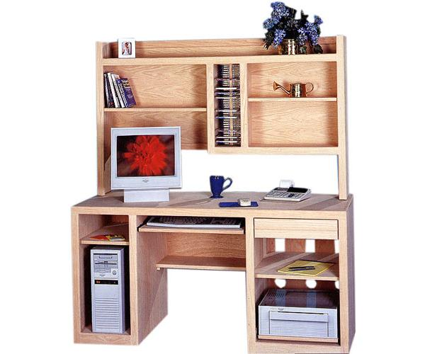 Superb Contemporary Computer Hutch Available In Pine Maple Oak Home Interior And Landscaping Ponolsignezvosmurscom