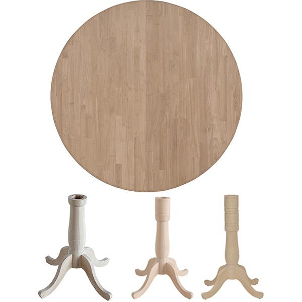 Parawood 36 Inch Round Table Top The Wood Shed